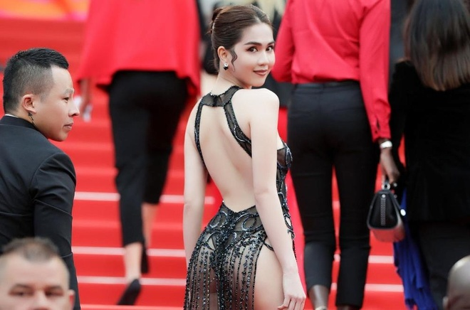 Ngoc Trinh Cannes anh 2