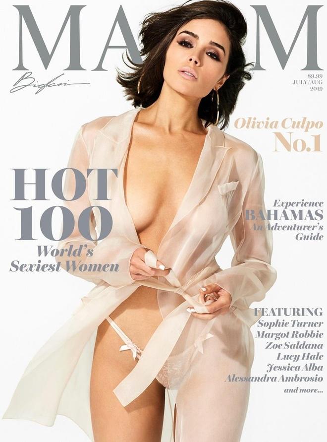 Hoa hậu Olivia Culpo dẫn đầu danh sách 100 phụ nữ nóng bỏng nhất 2019