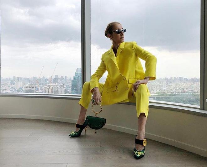 Celine Dion mac trang phuc bo sat bat chap tuoi 51 hinh anh 8