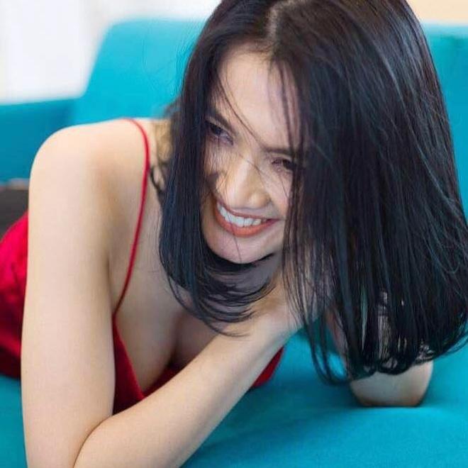 Anh Thu duoc khen giu dang san chac o tuoi U40 hinh anh 4
