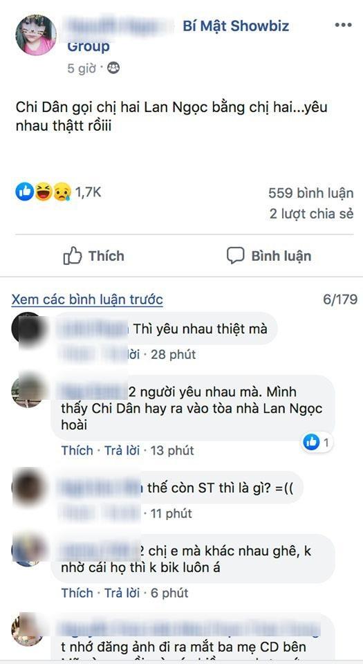 Chi Dan xung ho than mat voi chi Ninh Duong Lan Ngoc giua tin hen ho hinh anh 2