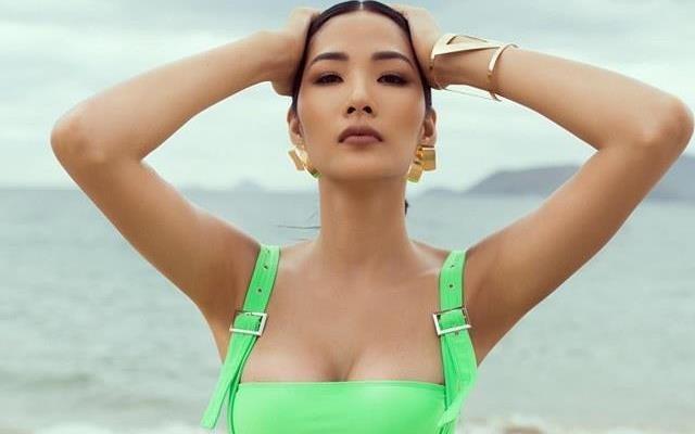 Hoang Thuy goi cam giua nghi van 'dao keo' vong mot hinh anh