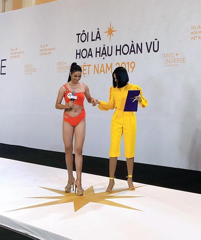 Á quân The Face diện bikini, khoe eo 53 cm ở Hoa hậu Hoàn vũ