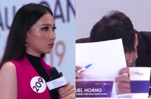 Nhung man tra loi gay cuoi cua thi sinh Hoa hau Hoan vu Viet Nam 2019 hinh anh