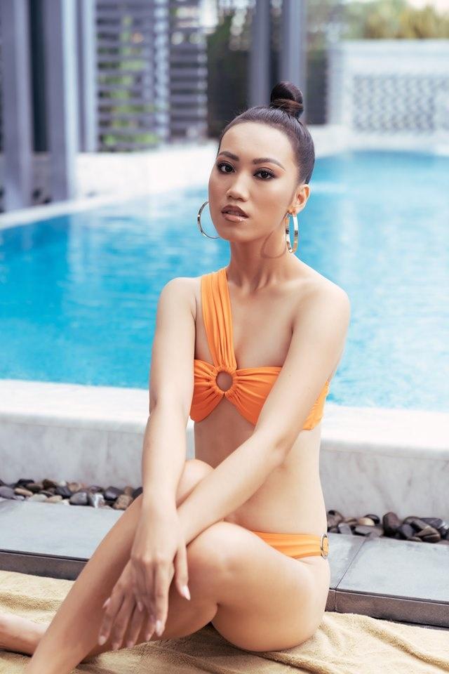 Dan thi sinh Hoa hau Hoan vu Viet Nam 2019 dien ao tam hinh anh 7
