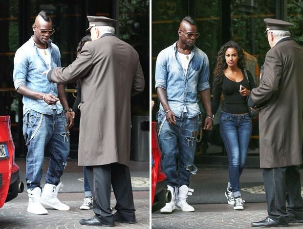 Sieu xe Ferrari cua Balotelli gay chu y tren duong pho Italy hinh anh 1