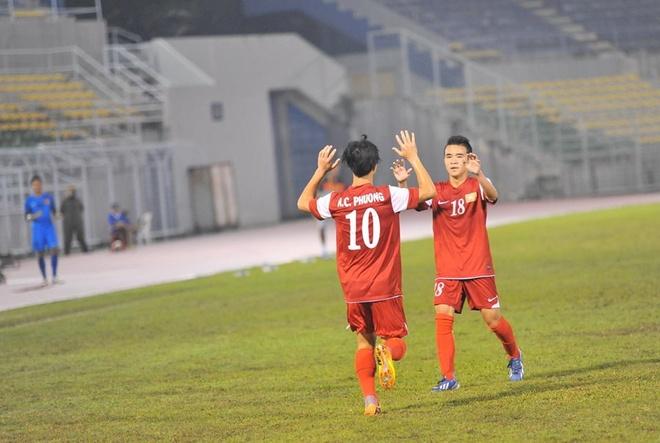U19 Viet Nam 6-1 U19 Dai Loan (ket thuc) hinh anh