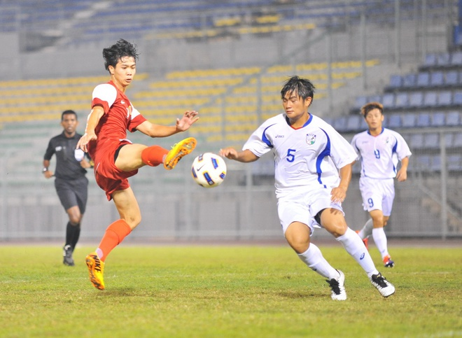 U19 Viet Nam thang de U19 Dai Loan 6-1 hinh anh