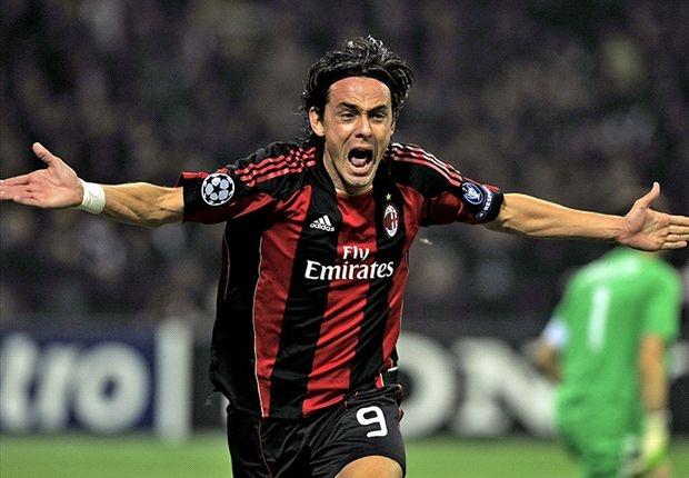 Inzaghi thach thuc Ronaldo va Messi hinh anh