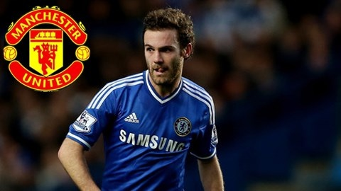Juan Mata co the chuyen toi M.U trong thang nay hinh anh