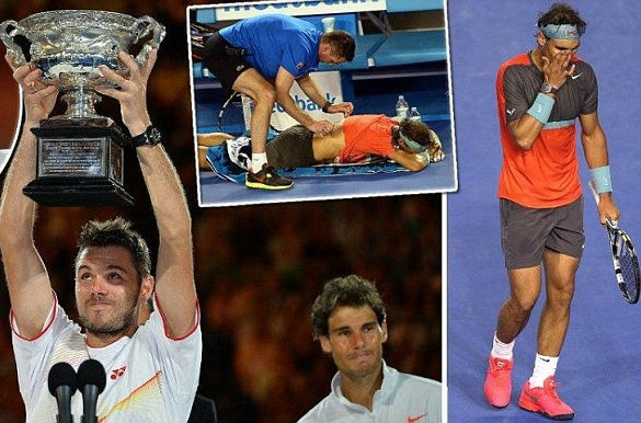 Nadal bat khoc khi thua Wawrinka o chung ket Australia Open hinh anh