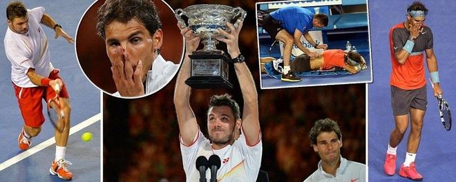 Nadal bat khoc khi thua Wawrinka o chung ket Australia Open hinh anh 15