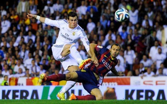 Gareth Bale nhan ngoi sao vang khi giup Real ha Barca hinh anh 1