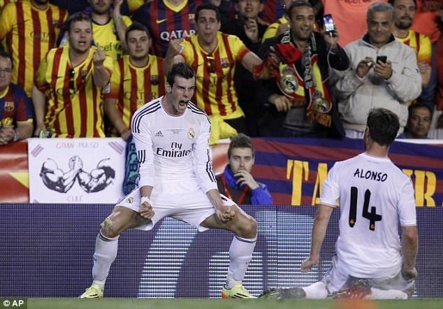 Bale quen cach an mung sau ban thang sieu toc vao luoi Barca hinh anh