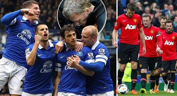 Everton 2-0 M.U: Quy do thua mat mat hinh anh