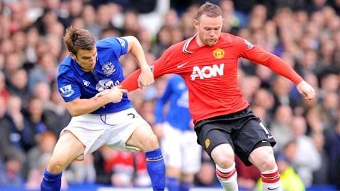 Everton - M.U: Cu hich troi Au hinh anh