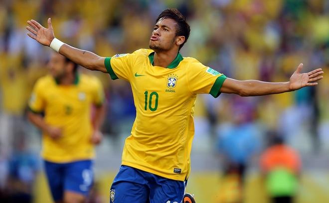 Neymar sut phat dang cap ghi ban cho Brazil hinh anh