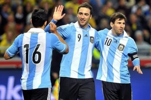 Bang F World Cup 2014: Argentina va phan con lai hinh anh 1