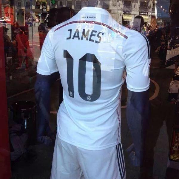 Ao so 10 cua James Rodriguez tai Real Madrid duoc bay ban hinh anh 1 a