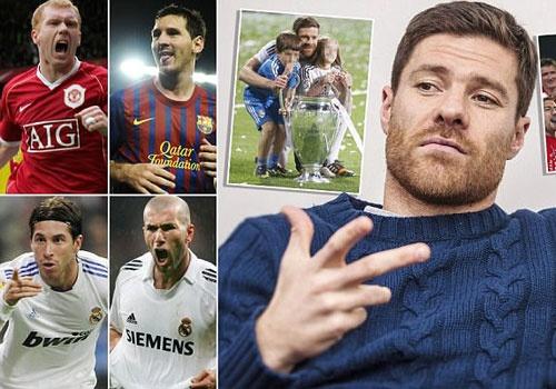 Zidane ho cong cho Ronaldo, Messi theo lua chon cua Alonso hinh anh