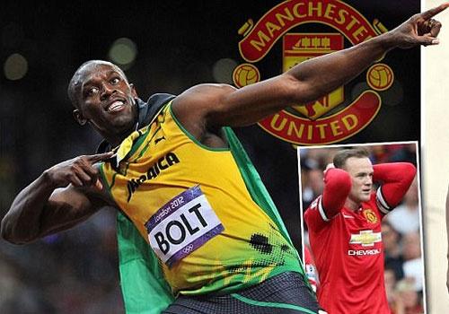 'Vua toc do' Usain Bolt che Rooney qua cham hinh anh