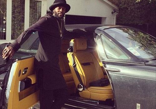 Adebayor khoe sieu xe Rolls-Royce gan 12 ty hinh anh
