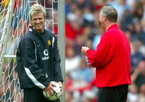 Beckham tung bo kieu toc sanh dieu theo lenh cua Sir Alex hinh anh