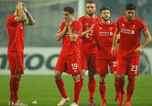 Thua tren cham 11 m, Liverpool dung buoc o Europa League hinh anh