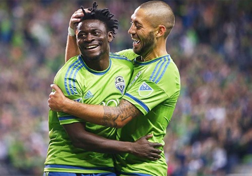 Highlights: Seattle Sounders 3-0 New England Revolution hinh anh