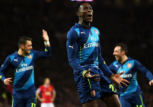 M.U 1-2 Arsenal: Di Maria bi duoi, Welbeck cho Quy do om han hinh anh