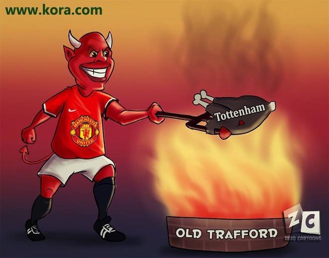 Anh vui Rooney an mung ban thang ha knock-out Tottenham hinh anh 7 a