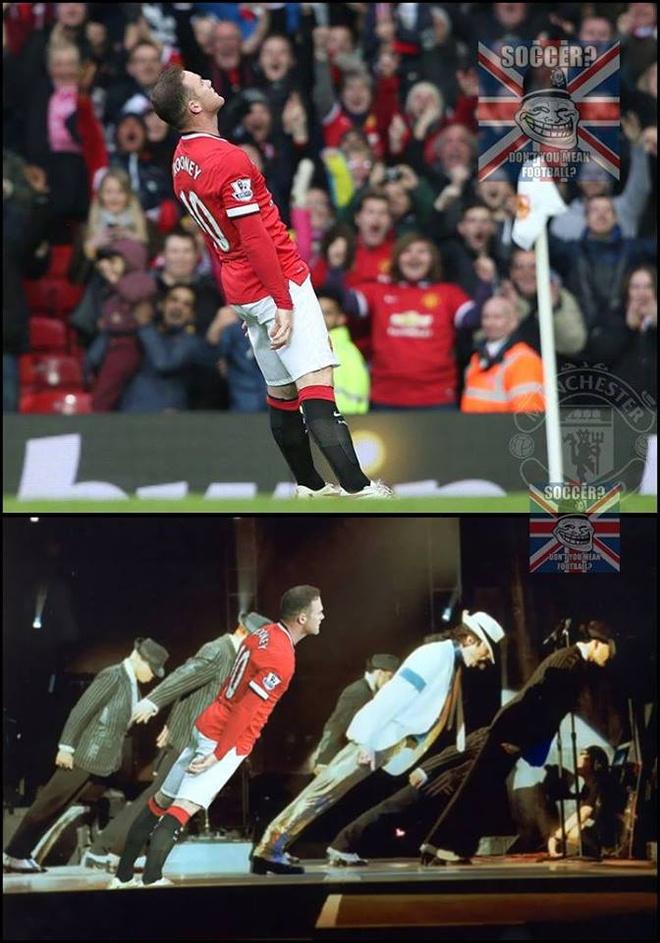 Anh vui Rooney an mung ban thang ha knock-out Tottenham hinh anh 3 a