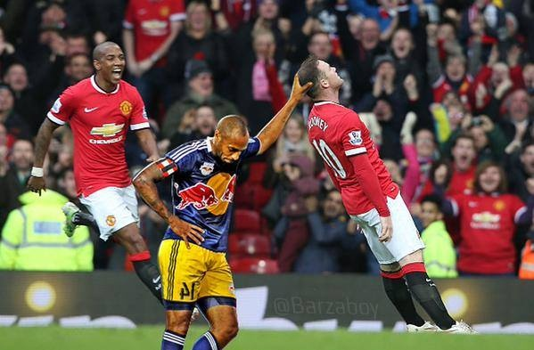 Anh vui Rooney an mung ban thang ha knock-out Tottenham hinh anh 4 a