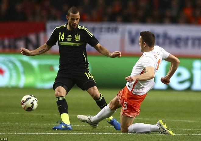 De Gea bat chinh trong tran Tay Ban Nha thua Ha Lan 0-2 hinh anh 5