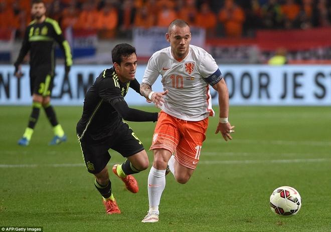 De Gea bat chinh trong tran Tay Ban Nha thua Ha Lan 0-2 hinh anh 7