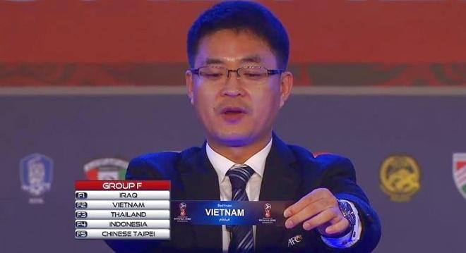 Viet Nam gap Iraq, Thai Lan o vong loai World Cup hinh anh
