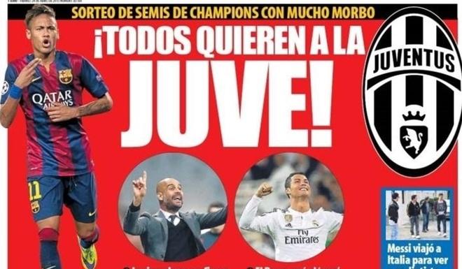 Ban ket Champions League: Barca dung Bayern, Juve gap Real hinh anh 8