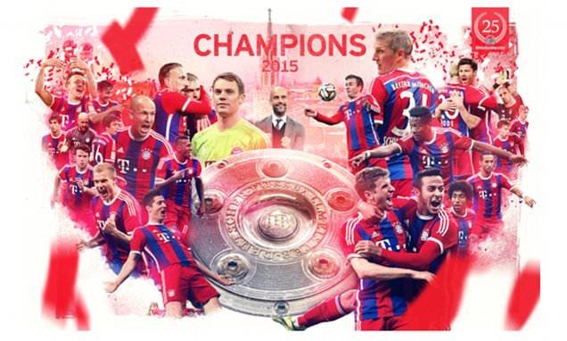 Bayern doat chuc vo dich Bundesliga truoc 4 vong dau hinh anh 1
