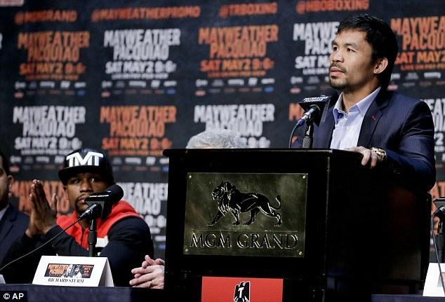 Mayweather doi mat Pacquiao truoc dai chien o Las Vegas hinh anh 8