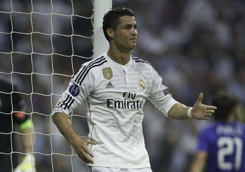 Ronaldo cham bong it nhat trong tran Juventus loai Real hinh anh