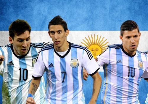 Di Maria kip binh phuc chan thuong du Copa America 2015 hinh anh