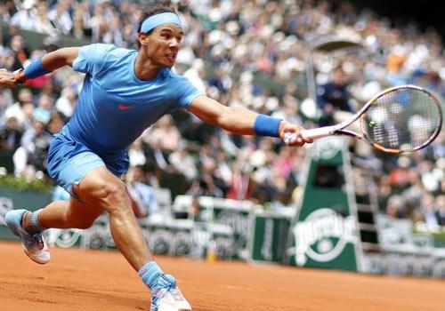Nadal khong mat nhieu suc de vao vong 3 Roland Garros hinh anh