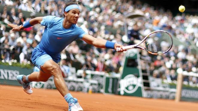 Tong hop dien bien chien thang cua Nadal o vong 2 Roland Garros hinh anh