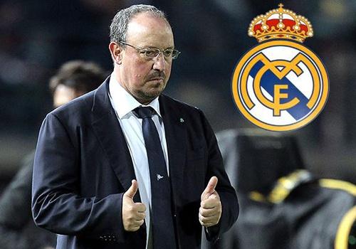 Real Madrid tiet lo ke hoach bo nhiem HLV Benitez hinh anh