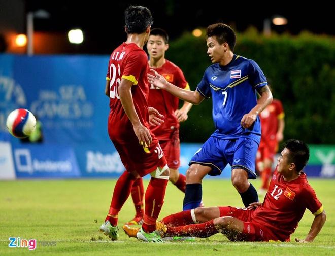 U23 Viet Nam mat ngoi dau bang khi thua Thai Lan 1-3 hinh anh 33