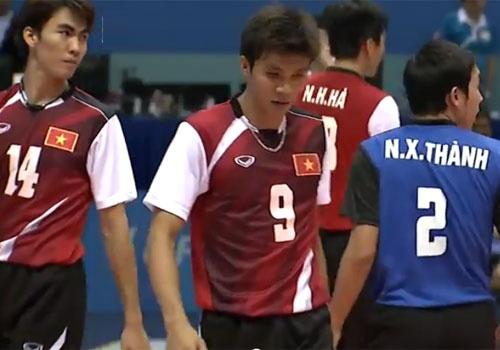 Chung ket bong chuyen nam SEA Games: Viet Nam - Thai Lan hinh anh