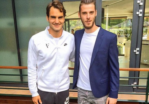 De Gea khoe anh chup cung Federer o Wimbledon hinh anh
