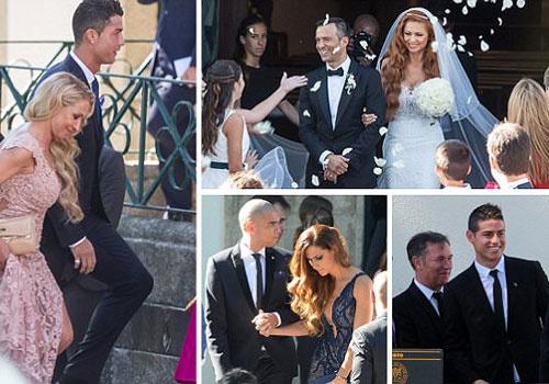 Ronaldo cung dan sao bong da du le cuoi cua sieu co Mendes hinh anh