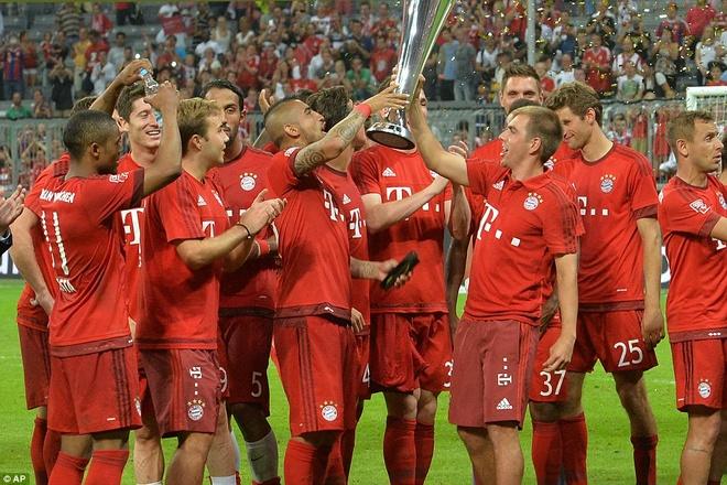 Bayern 1-0 Real: Lewandowski giup Hum xam vo dich Audi Cup hinh anh