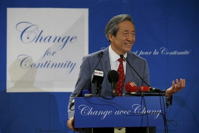 Ty phu Han Quoc tranh cu Chu tich FIFA hinh anh
